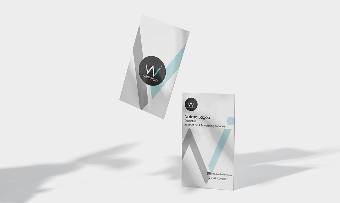 Natasa Lagou, Projects, Web Idilio, Branding, Logo, Business Card