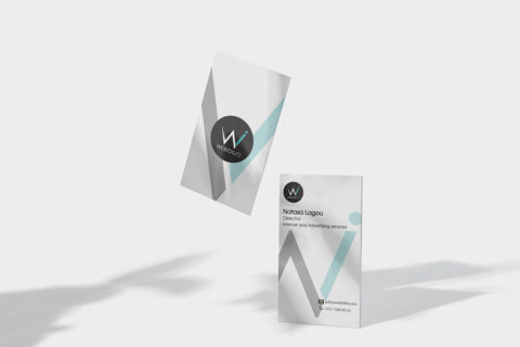 Natasa Lagou - Projects, Web Idilio, Branding, Logo, Business Card