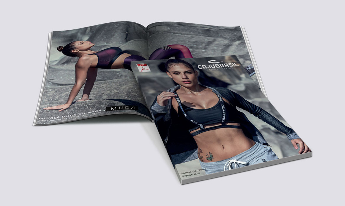 Natasa Lagou - Projects, Brazilian Fashion Fitness product catalogues