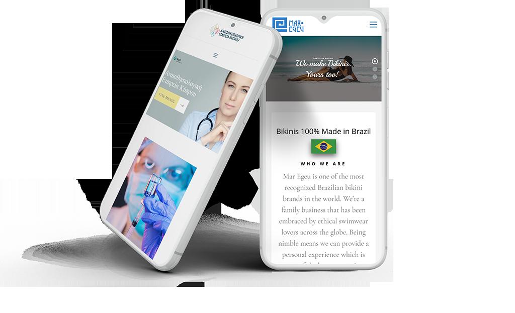 Natasa Lagou - Services, Web Design
